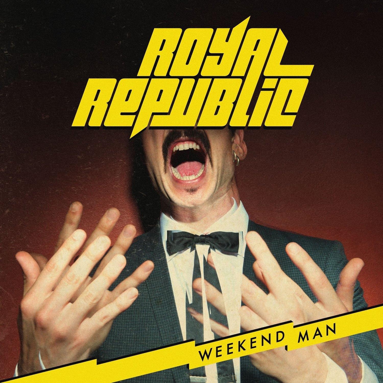 Royal Republic, weekend men, tournée française, Le Trabendo