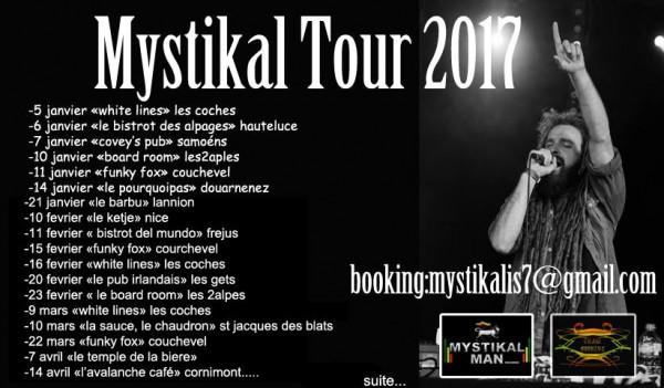 Mystikal Man Tour 2017