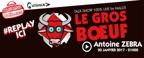 replay, le gros boeuf, zebra, podcast