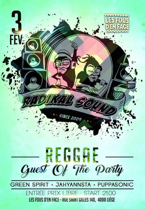 Reggae guest of the party
