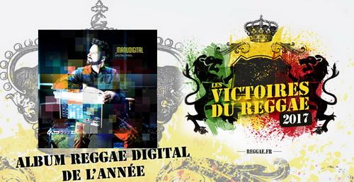 Album/Ep Digital victoires du reggae 2017