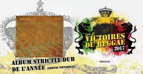 Album Stryckly Dub, sortie physique Victoires du Reggae 2017
