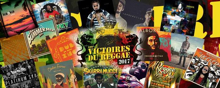 Victoires du Reggae 2017  Résultats