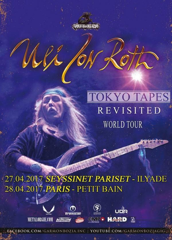 uli jon roth, scorpions, concert, france, grenoble, tokyo tapes