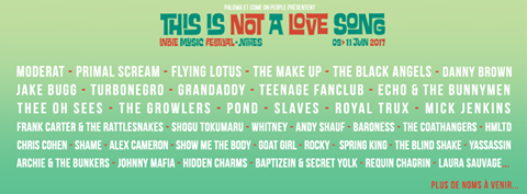 TINALS, 2017, Nîmes, Festival, Thee Oh Sees, Slaves