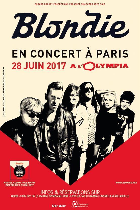 Blondie, concert, Fun, olympia