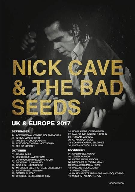 Nick Cave and the Bad Seeds, Sketelon Tree, nouvelle tournée, Zénith de Paris, 03 octobre