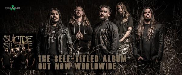 Suicide silence, nouvel album, deathcore, nuclear blast, 2017
