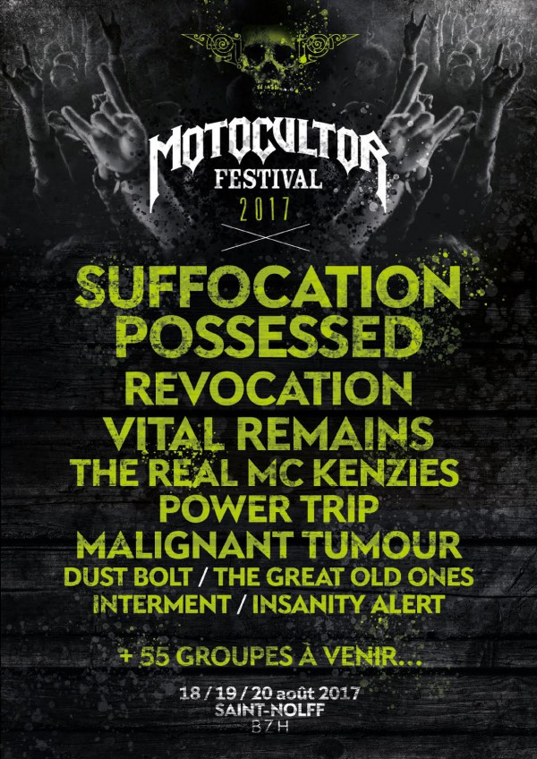 motocultor 2017, affiche, line-up, news, festival, saint nolff