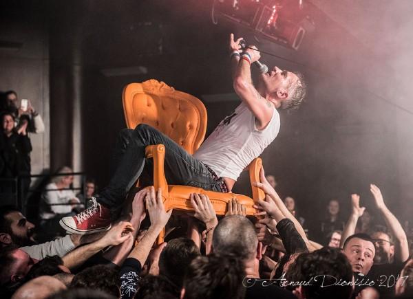 Vex, Wampas, Evangelisti, Tour 2017, Live report, La Cave, Argenteuil
