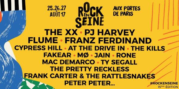 rock en seine, festival, paris, rock, annonce, programmation, 2017