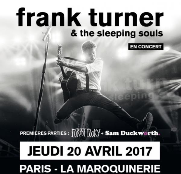 frank turner, the sleeping souls, concert, tournée, rock, folk