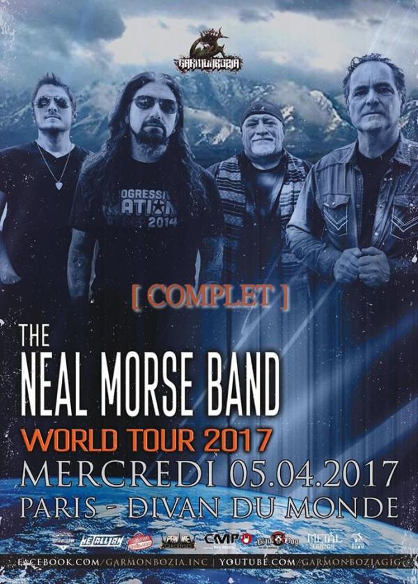 Garmonbozia, Neal Morse Band, Divan du Monde,