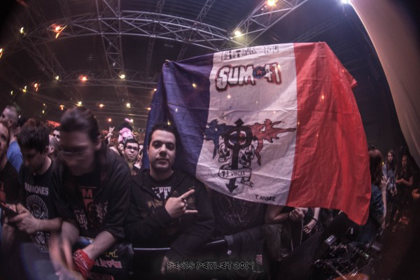 sum 41, live, 2017, France, paris, zenith,