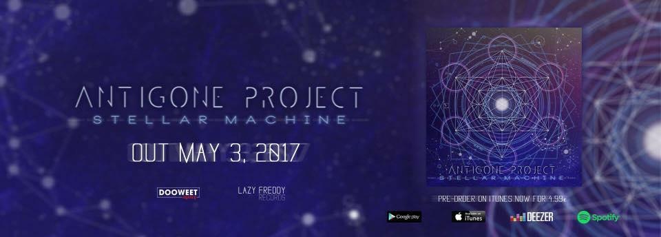 Antigone Project, Poison, single, album, Stellar Machine