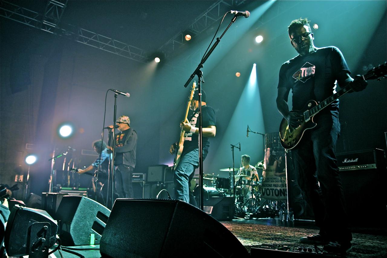 Trust, live report, concert, la coopérative de mai, Clermont-ferrand, Au nom de la rage
