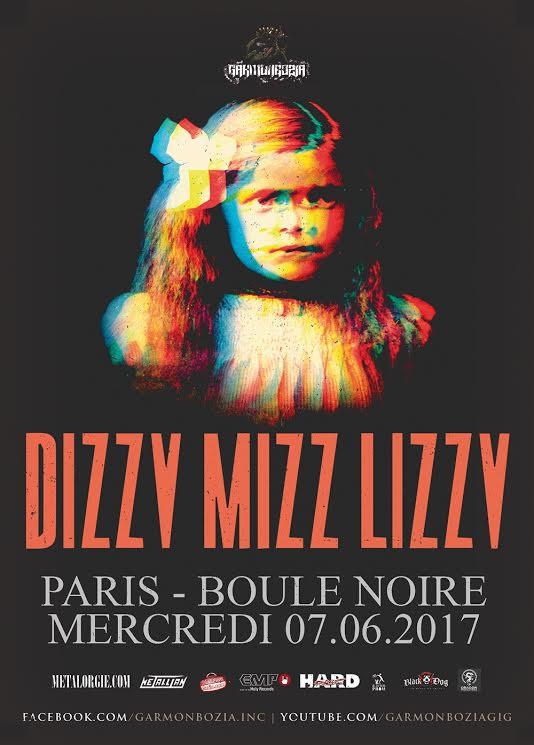 Dizzy Mizz Lizzy à la Boule Noire