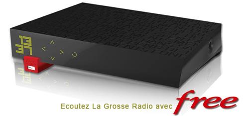 Freebox Revolution Ecouter Webradio La Grosse Radio