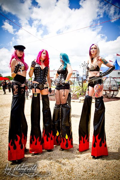 Nympherno / Hellfest 2012 - La Grosse Radio / Yog Photography