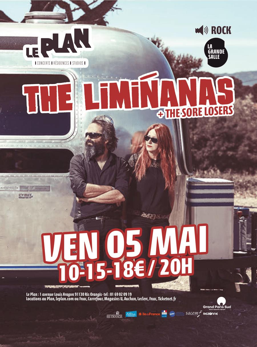 the liminanas, the sore losers, le plan, ris-orangis, concert, 05 mai
