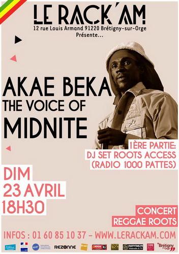 Akae Beka - Le Rackam 23 Avril 2017