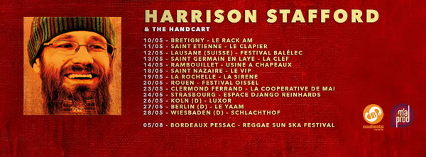 Harrison Stafford & The Handcart Tour