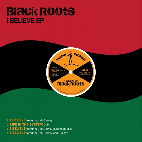 Black Roots I Believe EP Cover