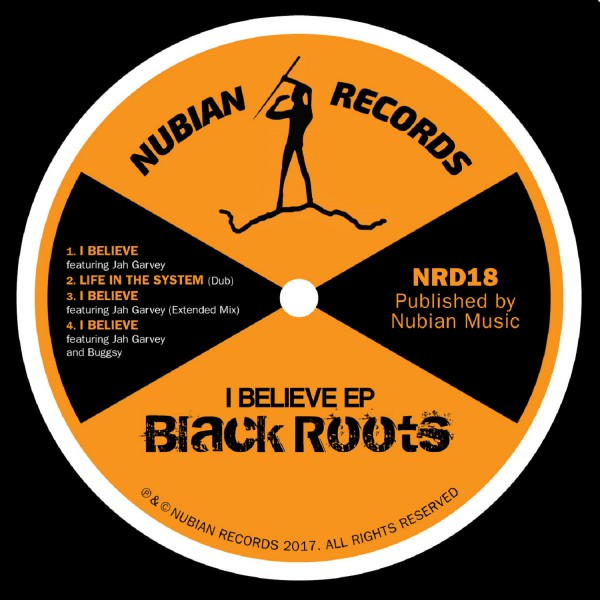 Black Roots I Believe EP Label