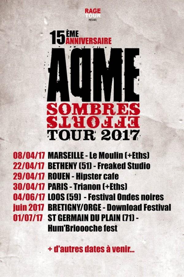Aqme, tour, concert, live, 2017, download festival, rombas, quimper