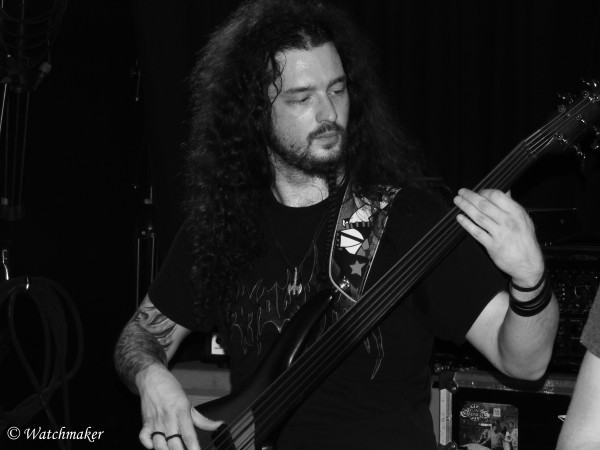 Obsidium, death, metal, reims, live, bass, fretless,