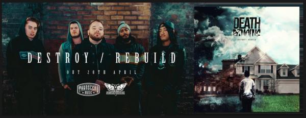 death remains, metalcore, nouvel album, 2017, angleterre