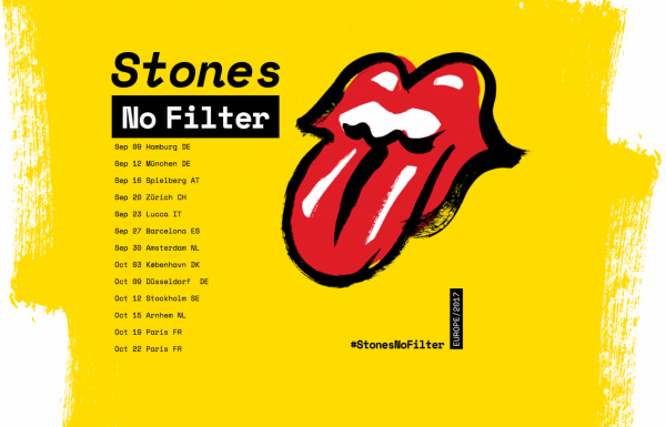 Rolling Stones No Filter 2017