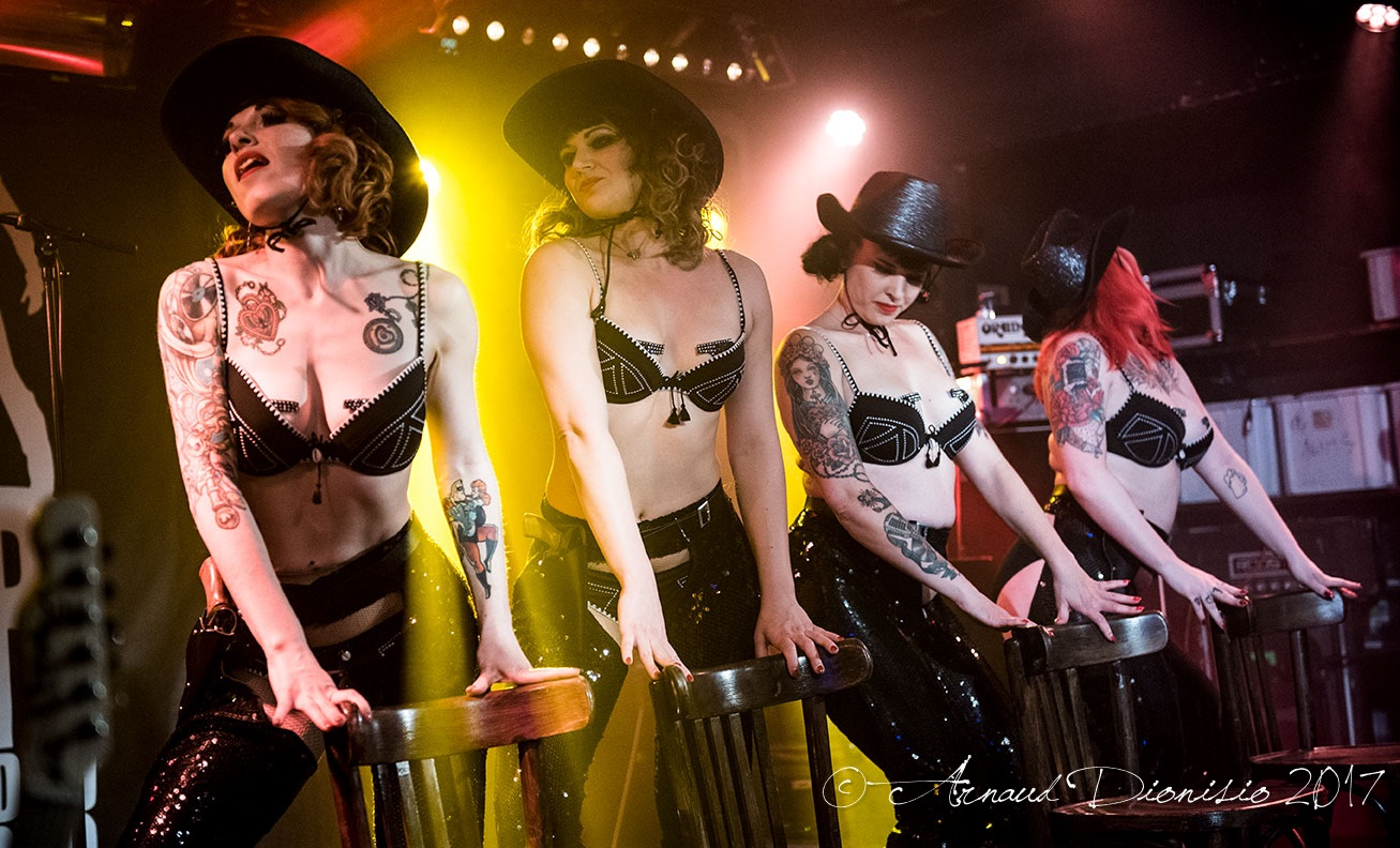 Concert, 3, connards, rock, 2017, bagdad rodeo, Pin-Up d'Alsace, strip tease