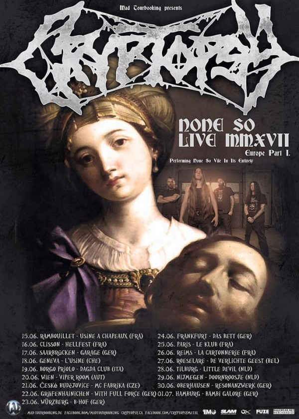 Cryptopsy, metal, death, Reims, Asso Myfist, Cartonnerie