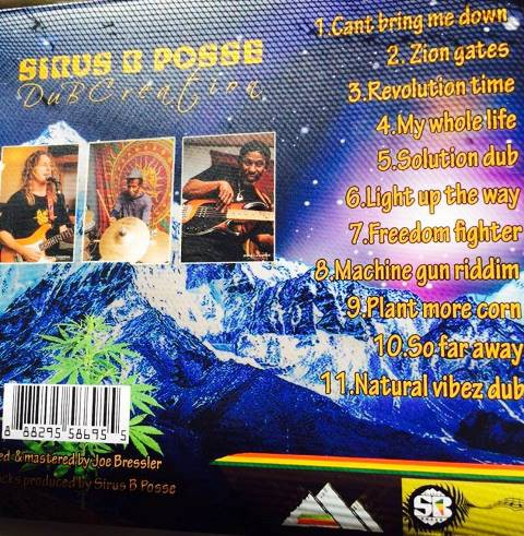 Sirus B Posse - Dub Creation back cover