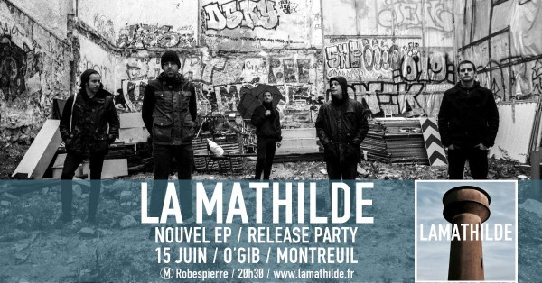La Mathilde, Release Party, concert, EP