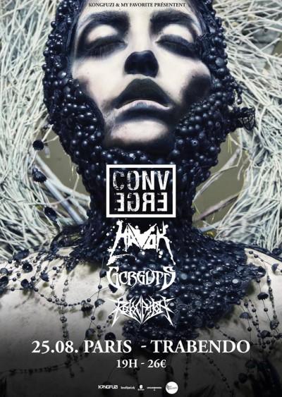 Gorguts, converge, tour, metal, trabendo,