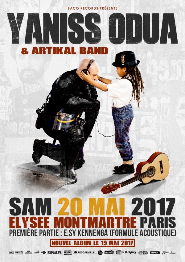 YaniSs Odua - Nouvelle Donne Elyzée Montmartre 20 Mai 2017