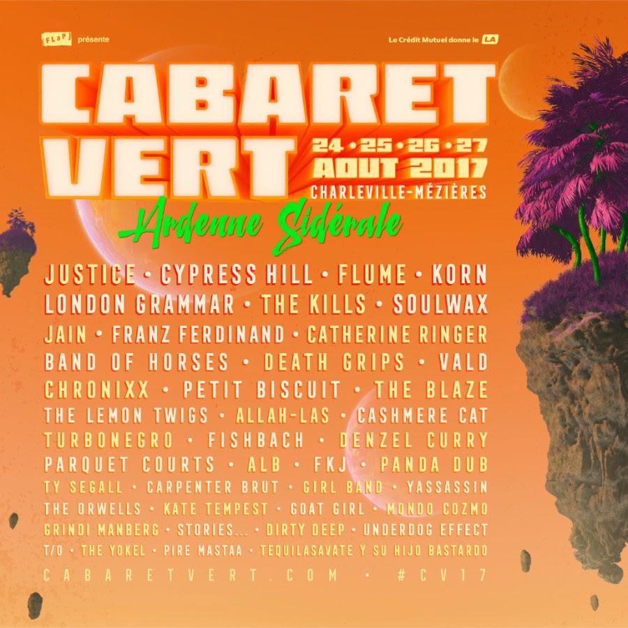 cabaret vert, charleville-mézières, festival, août, ardennes, 2017