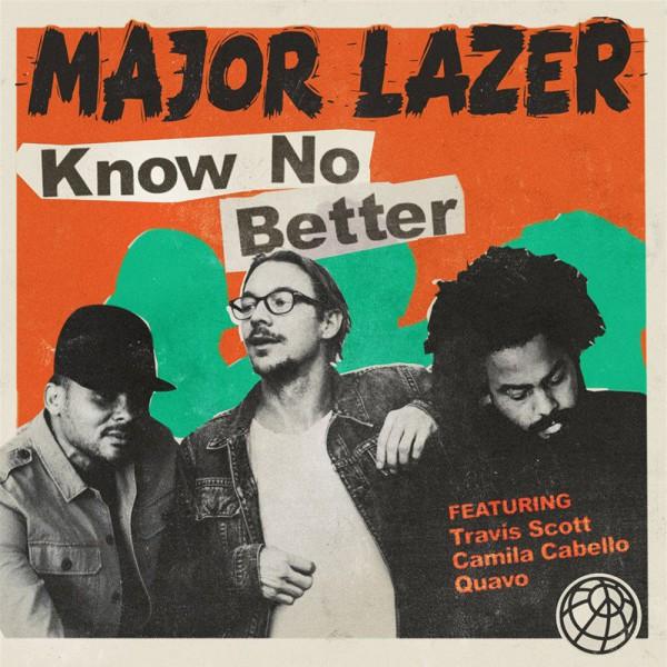 major lazer, nouvel ep, know no better