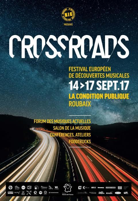 CROSSROADS, Festival, découvertes musicales, Roubaix