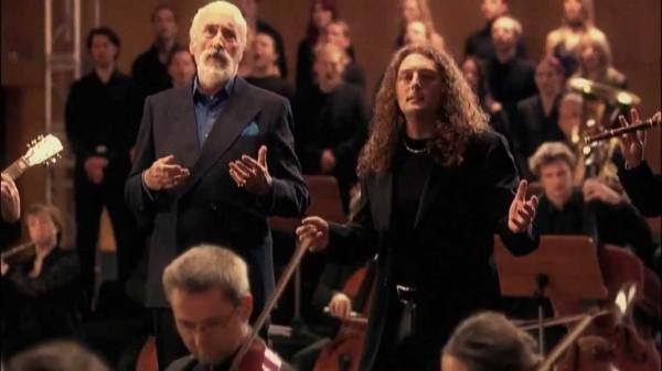 christopher lee, rhapsody, metal, opéra, symphonique, anglais, décès