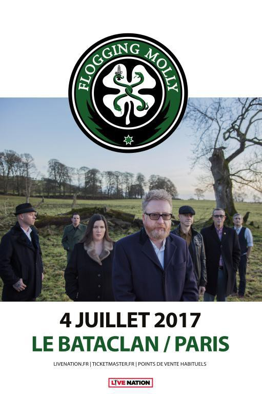 flogging molly, punk, celtique, rock, festival, sortie, new album, life is good, 2017, bataclan