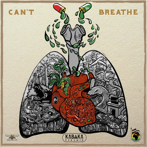 Kabaka Pyramid  - Cant Breathe single cover