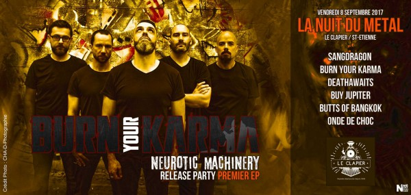 Release Party Burn Your Karma