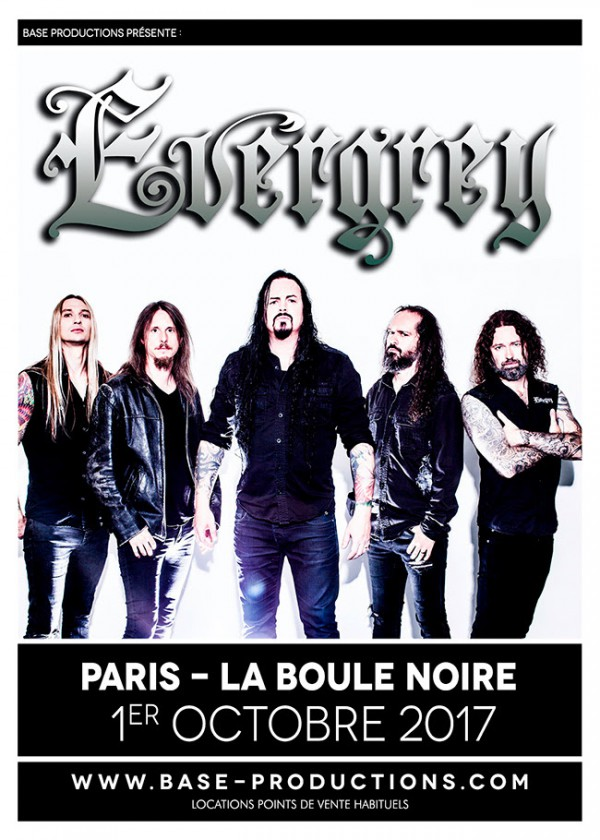 evergrey, the storm within, 2017, tournée, concert, live, sortie, paris, lyon