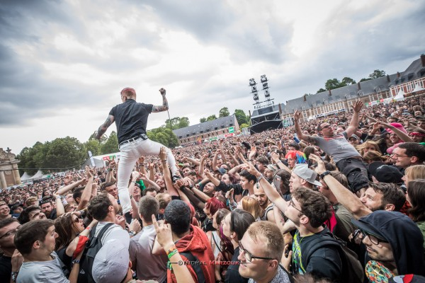 main square festival, frank carter, the rattlesnakes, nidhal marzouk, punk