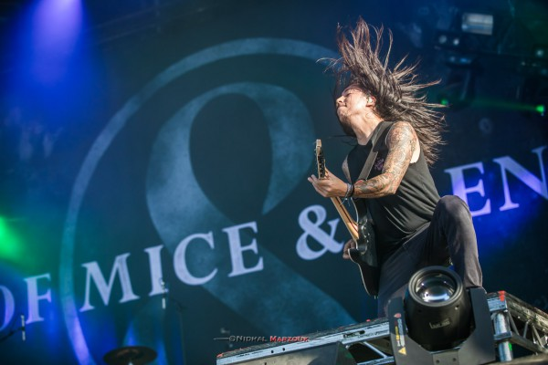 of mice and men, aaron pauley, carlile, metalcore, cold world, 2017, hellfest, mainstage 2