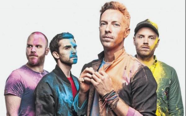 Coldplay, ALIENS, Kaleidoscope, EP 2017