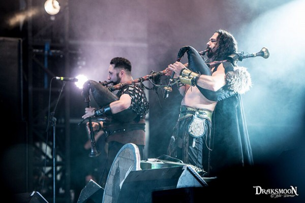 Hellfest, Corvus Corax, Temple, Neo medieval, folk metal